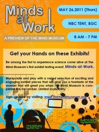 Minds at Work: A Preview of the Mind Museum's Exhibits